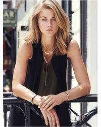 BaubleBar | Metallic Get Personal Y-chain Necklace-silver | Lyst