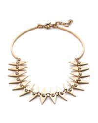 J.Crew | Metallic Crystal Diamond Collar Necklace | Lyst