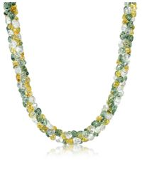Antica Murrina | Multicolor Rubik - Murano Glass Drops Necklace | Lyst
