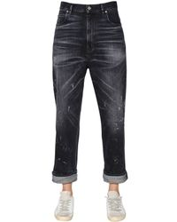 Golden Goose Deluxe Brand | Blue Boyfriend Dark Wash Cotton Denim Jeans | Lyst