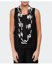 Jianhui - Gray Pashmina Chain Necklace - Lyst
