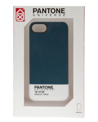 Case Scenario | Blue Pantone Universe Iphone 5 Case | Lyst