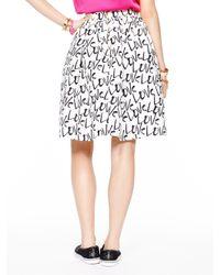 kate spade new york - Natural Love Cupcake Skirt - Lyst