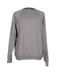 Armani - Gray Sweater for Men - Lyst