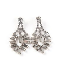 Tom Binns | Metallic Art Deco Earrings | Lyst
