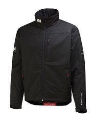 Helly Hansen | Black Crew Midlayer Jacket for Men | Lyst