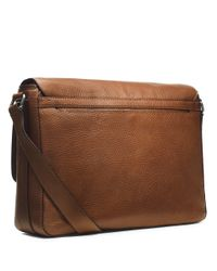 Michael Kors | Brown Bryant Leather Messenger Bag for Men | Lyst