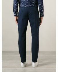 A Kind Of Guise - Blue Quality Standard Trouser for Men - Lyst