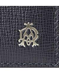 Dunhill - Blue Belgrave Textured-Leather Cardholder for Men - Lyst
