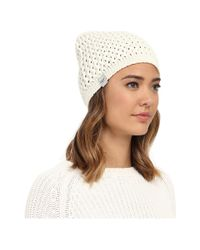 UGG - Natural Sequoia Solid Knit Beanie - Lyst