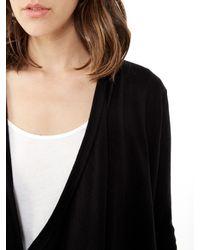 Alternative Apparel | Black Backpacker Sweater Knit Cardigan Sweater | Lyst