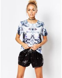 Jaded London | Blue Diamond Zoom T-shirt | Lyst