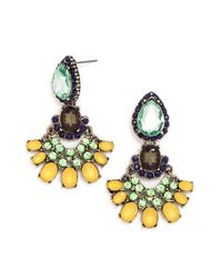 BaubleBar | Yellow August Peridot Drops | Lyst