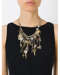 Marc By Marc Jacobs | Metallic Multiple Key Necklace | Lyst
