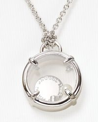 Marc By Marc Jacobs | Metallic Floating Charms Necklace 20 | Lyst