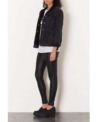 TOPSHOP | Black Jagg Chunky Canvas Loafers | Lyst
