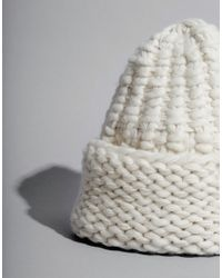 Wool And The Gang | White Abyss Beanie | Lyst