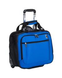 Delsey | Blue Nylon Trolley Tote Bag for Men | Lyst