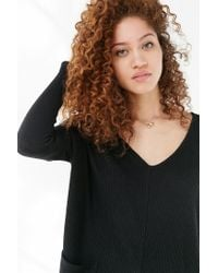 BDG - Black Mia Pocket Pullover Sweater - Lyst