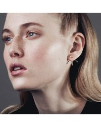 Smith/grey - Metallic Karina Earrings Gold - Lyst
