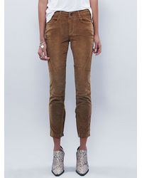 Free People | Natural Gavin Cord Skinny | Lyst