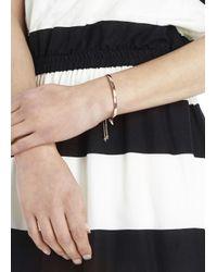 Monica Vinader | Pink Fiji 18kt Rose Gold-plated Bracelet | Lyst