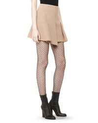 Alexander Wang - Natural Flared Mini Skirt - Lyst