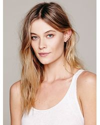 Free People - Metallic Hang Tight Wire Ear Cuff - Lyst