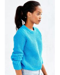 BDG - Blue Kia Tuck-stitch Sweater - Lyst