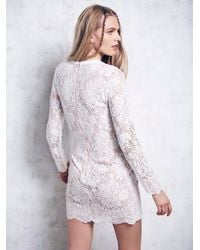 Free People | White Ruins Dress | Lyst