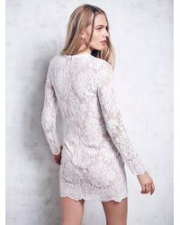 Free People - White Ruins Dress - Lyst