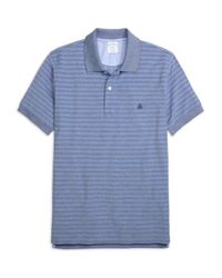 Brooks Brothers | Blue Slim Fit Two-tone Stripe Polo for Men | Lyst