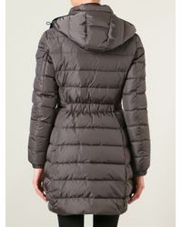 Moncler - Gray Saby Padded Coat - Lyst