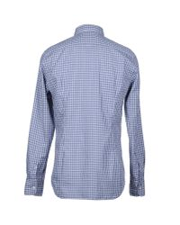 Bevilacqua | Gray Shirt for Men | Lyst