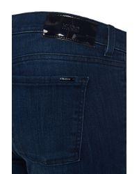 HUGO - Blue Super-skinny-fit Cotton-blend Jeans: 'georgina' - Lyst