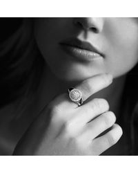 David Yurman | Metallic Petite Cerise Ring With Diamonds | Lyst