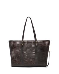 Chloé - Black Large Dilan Shopper Tote - Lyst