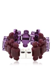 EK Thongprasert - Purple Automobile Bracelet - Lyst