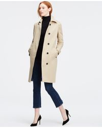 Ann Taylor | Natural Tall Banded Sleeve Topper | Lyst