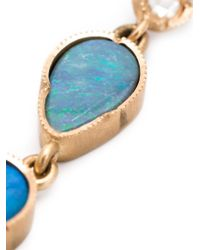 Irene Neuwirth - Blue 18kt Rose Gold Opal Drop Earrings - Lyst