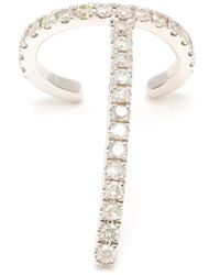 Asherali Knopfer | Metallic 'theo' Diamond Earring | Lyst