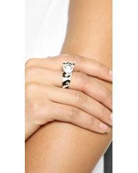 kate spade new york - Multicolor Lucky Streak Tiger Ring - Multi - Lyst