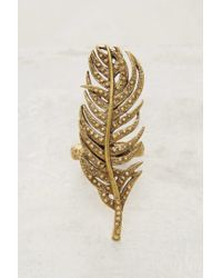 Alkemie - Metallic Of A Feather Ring - Lyst