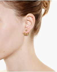 Yvonne Léon - Metallic 18K Gold Lobe Earring - Lyst
