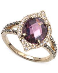 Judith Jack - Metallic Gold-tone Crystal Stone Ring - Lyst