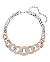 Swarovski - Multicolor Bound Large Necklace - Lyst