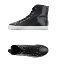 Stokton - Black High-Tops & Trainers - Lyst