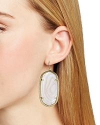 Kendra Scott - Blue Danielle Earrings - Lyst