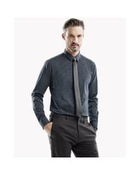 Theory | Blue Zack Ps Shirt In Pritchard for Men | Lyst