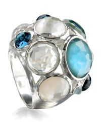 Ippolita - Blue Wonderland Crystal Party Ring - Lyst